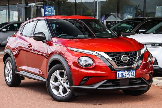 Used Nissan Juke F16 ST+ DCT 2WD Gosnells, 2020 Nissan Juke F16 ST+ DCT 2WD Red 7 Speed Sports Automatic Dual Clutch Hatchback