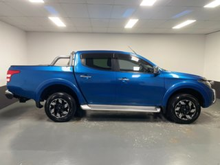 2016 Mitsubishi Triton MQ MY17 Exceed Double Cab Blue 5 Speed Sports Automatic Utility