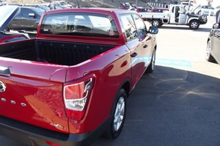 2021 Ssangyong Musso Q215 MY21 ELX Crew Cab Red 6 Speed Sports Automatic Utility