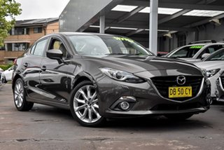 2014 Mazda 3 BM5238 SP25 SKYACTIV-Drive GT Bronze 6 Speed Sports Automatic Sedan.