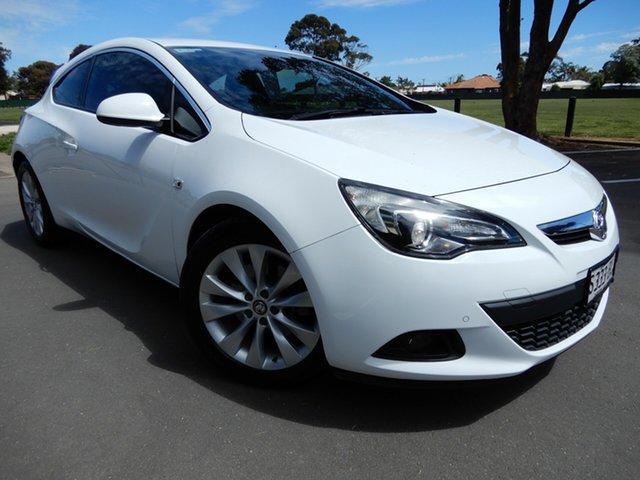 Used Holden Astra PJ MY15.5 GTC Glenelg, 2015 Holden Astra PJ MY15.5 GTC White 6 Speed Automatic Hatchback