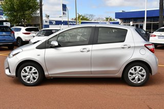 2019 Toyota Yaris NCP130R Ascent Silver 5 Speed Manual Hatchback.