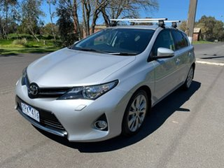 2013 Toyota Corolla ZRE182R Levin ZR Silver 7 Speed Constant Variable Hatchback.