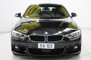 2015 BMW 4 Series F36 435i Gran Coupe Black 8 Speed Sports Automatic Hatchback.