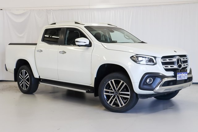 Used Mercedes-Benz X-Class 470 X250d 4MATIC Power Wangara, 2020 Mercedes-Benz X-Class 470 X250d 4MATIC Power White 7 Speed Sports Automatic Utility