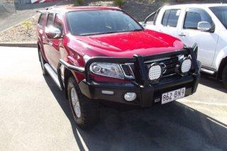 2018 Nissan Navara D23 S3 ST Red 6 Speed Manual Utility.