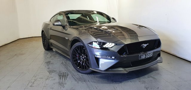 Used Ford Mustang FN 2020MY GT Elizabeth, 2020 Ford Mustang FN 2020MY GT Magnetic Grey/leathe 6 Speed Manual Fastback