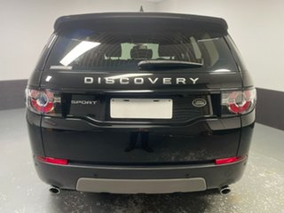 2017 Land Rover Discovery Sport L550 17MY TD4 150 SE Ultimate Black 9 Speed Sports Automatic Wagon
