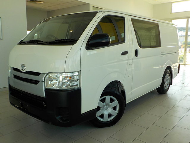Used Toyota HiAce KDH201R LWB Garbutt, 2016 Toyota HiAce KDH201R LWB White 4 Speed Automatic Van