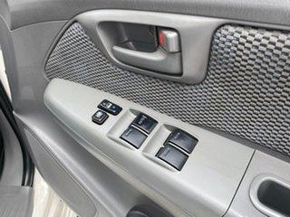 2006 Toyota Hilux KUN26R MY07 SR White 5 Speed Manual Utility