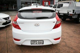 2017 Hyundai Accent RB4 MY17 SR White 6 Speed Automatic Hatchback