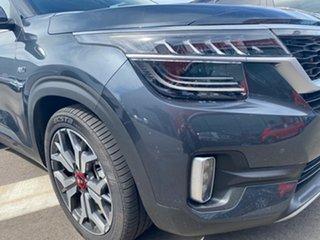 2021 Kia Seltos SP2 MY21 GT-Line DCT AWD Gravity Grey 7 Speed Sports Automatic Dual Clutch Wagon.
