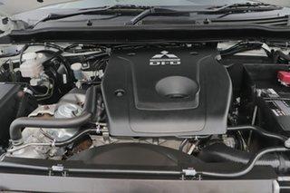 2017 Mitsubishi Triton MQ MY18 GLX 4x2 White Solid 6 Speed Manual Cab Chassis
