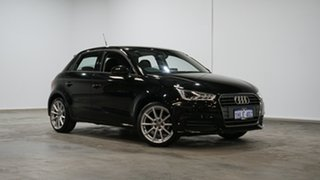 2017 Audi A1 8X MY18 Sport Sportback S Tronic Black 7 Speed Sports Automatic Dual Clutch Hatchback.