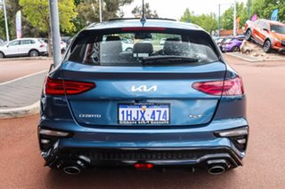 2021 Kia Cerato BD GT Blue Sports Automatic Dual Clutch Hatchback.