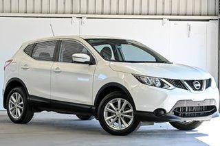 2017 Nissan Qashqai J11 ST White 1 Speed Constant Variable Wagon.