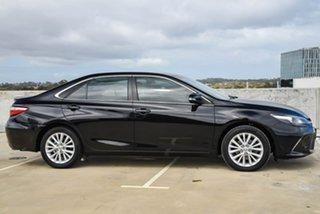 2016 Toyota Camry ASV50R Atara SL Black 6 Speed Sports Automatic Sedan.