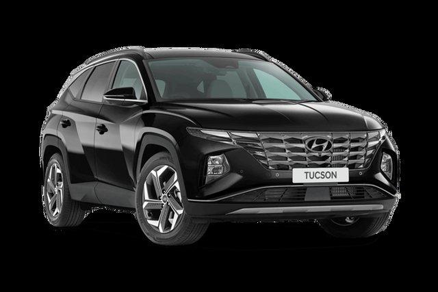 New Hyundai Tucson Highlander Hamilton, 2021 Hyundai Tucson NX4.V1 Highlander Phantom Black 8 Speed Automatic SUV