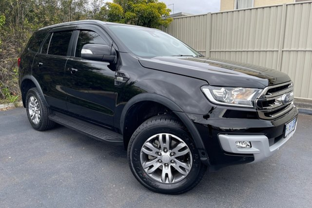 Used Ford Everest UA 2018.00MY Trend Devonport, 2018 Ford Everest UA 2018.00MY Trend Black 6 Speed Sports Automatic SUV