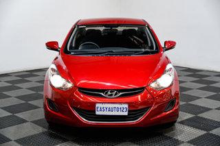 2013 Hyundai Elantra MD2 Active Red 6 Speed Sports Automatic Sedan