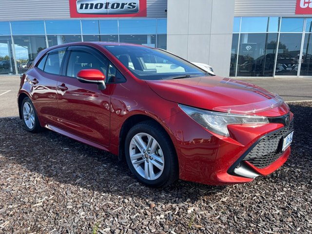 Used Toyota Corolla Mzea12R Ascent Sport Devonport, 2019 Toyota Corolla Mzea12R Ascent Sport Orange 10 Speed Constant Variable Hatchback