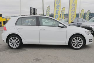 2016 Volkswagen Golf VII MY16 110TSI DSG Highline Pure White 7 Speed Sports Automatic Dual Clutch