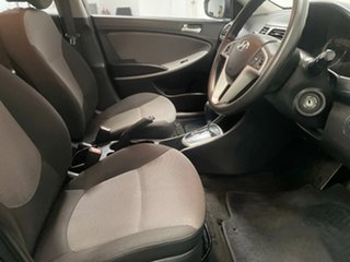 2012 Hyundai Accent RB Active Carbon Grey 4 Speed Sports Automatic Hatchback