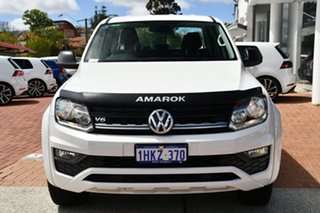 2019 Volkswagen Amarok 2H MY20 TDI550 4MOTION Perm Core White 8 Speed Automatic Utility.