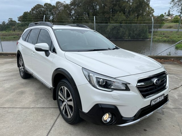 Used Subaru Outback B6A MY18 3.6R CVT AWD Maitland, 2018 Subaru Outback B6A MY18 3.6R CVT AWD Crystal White 6 Speed Constant Variable Wagon