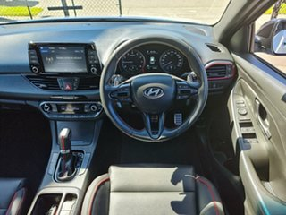 2018 Hyundai i30 PD.3 MY19 N Line D-CT White 7 Speed Sports Automatic Dual Clutch Hatchback