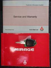 2014 Mitsubishi Mirage LA ES White Continuous Variable Hatchback