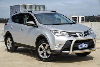 2015 Toyota RAV4 ASA44R MY14 GXL AWD Silver, Chrome 6 Speed Sports Automatic Wagon.