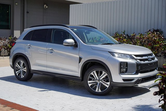 New Mitsubishi ASX XD MY21 XLS Plus 2WD Cairns, 2021 Mitsubishi ASX XD MY21 XLS Plus 2WD Sterling Silver 1 Speed Constant Variable Wagon