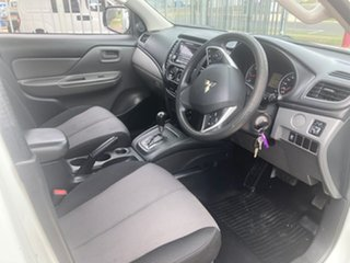 2015 Mitsubishi Triton MQ MY16 GLX White 5 Speed Automatic Cab Chassis