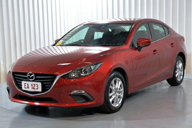 Used Mazda 3 BM5276 Maxx SKYACTIV-MT Hendra, 2014 Mazda 3 BM5276 Maxx SKYACTIV-MT Red 6 Speed Manual Sedan