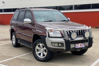 2008 Toyota Landcruiser Prado GRJ120R 07 Upgrade GXL (4x4) Red 5 Speed Automatic Wagon.