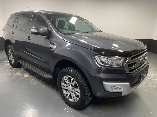 Used Ford Everest UA 2018.00MY Trend Hamilton, 2018 Ford Everest UA 2018.00MY Trend Meteor Grey 6 Speed Sports Automatic SUV