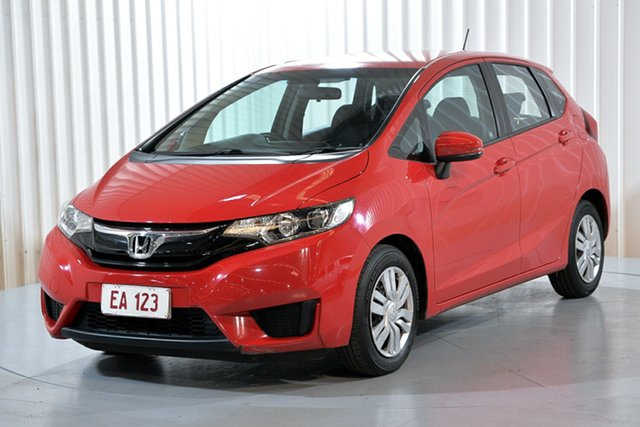 Used Honda Jazz GF MY15 VTi Hendra, 2014 Honda Jazz GF MY15 VTi Red 1 Speed Constant Variable Hatchback