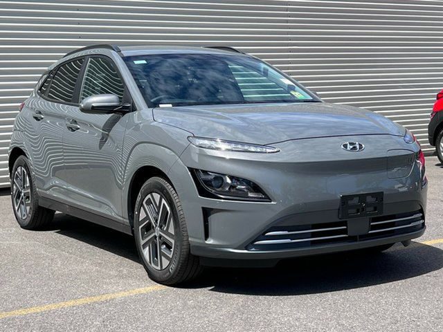 New Hyundai Kona Os.v4 MY21 electric Elite Nailsworth, 2021 Hyundai Kona Os.v4 MY21 electric Elite Galactic Grey 1 Speed Reduction Gear Wagon