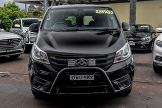 2019 LDV G10 SV7C Black 6 Speed Automatic Van