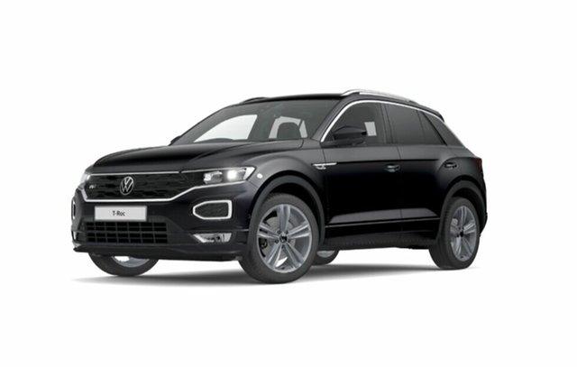 New Volkswagen T-ROC Port Melbourne, 2021 Volkswagen T-ROC SPORT 140TSI Black 7 Speed Direct Shift Wagon