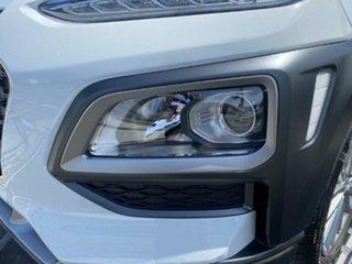 2017 Hyundai Kona OS MY18 Elite 2WD White 6 Speed Sports Automatic Wagon