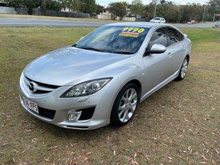 2009 Mazda 6 GH1051 MY09 Luxury Silver 5 Speed Sports Automatic Hatchback.