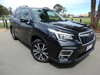 2018 Subaru Forester S5 MY19 2.5i Premium CVT AWD Grey 7 Speed Constant Variable Wagon.