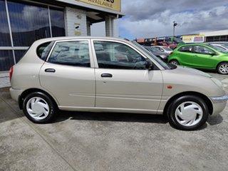 1998 Daihatsu Sirion M100 Silver 4 Speed Automatic Hatchback