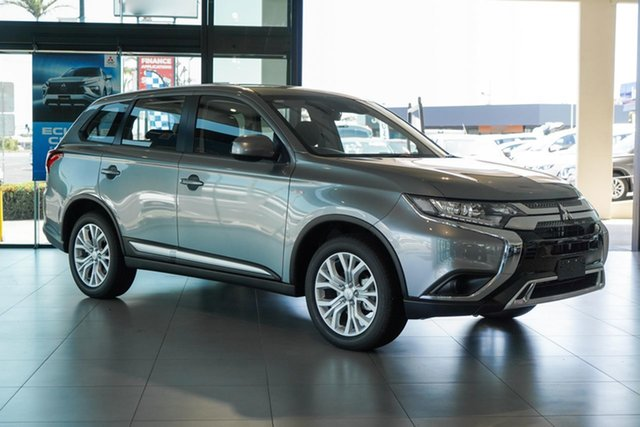 New Mitsubishi Outlander ZL MY21 ES AWD Cairns, 2021 Mitsubishi Outlander ZL MY21 ES AWD Titanium Grey 6 Speed Constant Variable Wagon