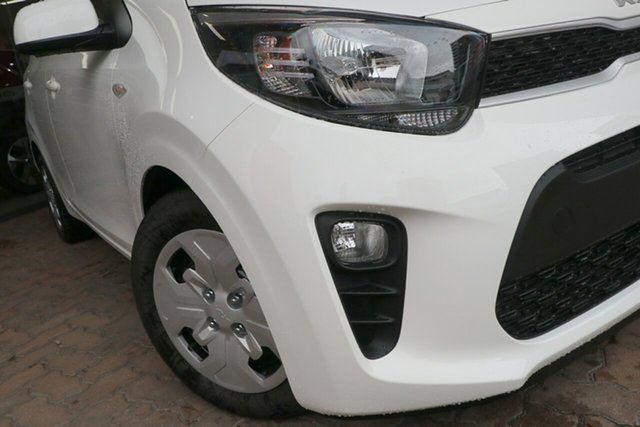 New Kia Picanto JA MY22 S St Marys, 2021 Kia Picanto JA MY22 S Clear White 4 Speed Automatic Hatchback