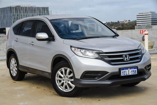 Used Honda CR-V RM MY15 VTi Navi Osborne Park, 2014 Honda CR-V RM MY15 VTi Navi Silver, Chrome 5 Speed Automatic Wagon
