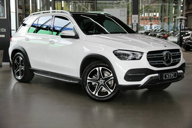 Used Mercedes-Benz GLE-Class V167 800+050MY GLE300 d 9G-Tronic 4MATIC North Melbourne, 2020 Mercedes-Benz GLE-Class V167 800+050MY GLE300 d 9G-Tronic 4MATIC White 9 Speed Sports Automatic