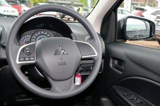 2021 Mitsubishi Mirage LB MY22 ES Black 1 Speed Constant Variable Hatchback